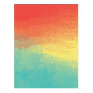 Textura de la acuarela de Ombre - trullo, Tarjetas Postales