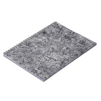 Textura de la arena del embaldosado libros de apuntes