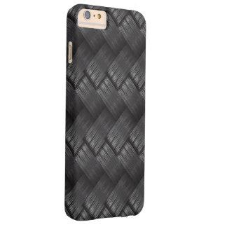 Textura de la armadura de la fibra de carbono funda barely there iPhone 6 plus