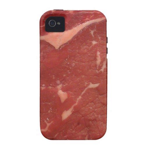 Textura de la carne Case-Mate iPhone 4 carcasa
