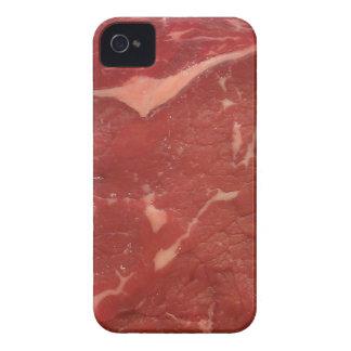 Textura de la carne iPhone 4 cobertura