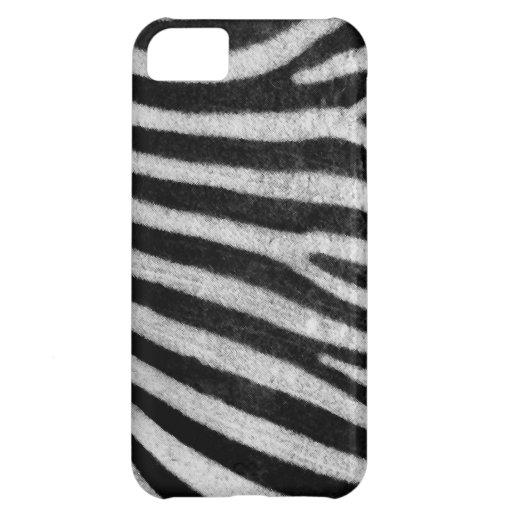 Textura de la cebra funda para iPhone 5C