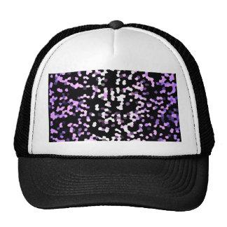 Textura de la chispa del mosaico del gorra