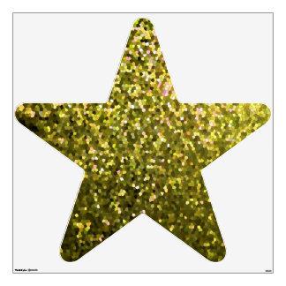 Textura de la chispa del mosaico del oro de la vinilo
