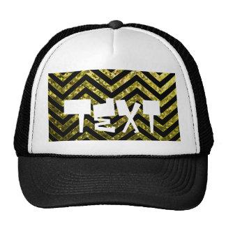 Textura de la chispa del zigzag del gorra