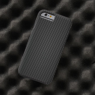 Textura de la fibra sintética de Kevlar Funda De iPhone 6 Tough