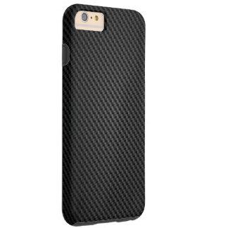 Textura de la fibra sintética de Kevlar Funda De iPhone 6 Plus Tough