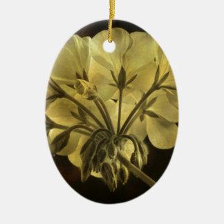 Textura de la flor del geranio ornamentos de reyes magos