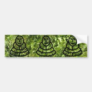 Textura de la hierba salvaje y del trébol con el h etiqueta de parachoque