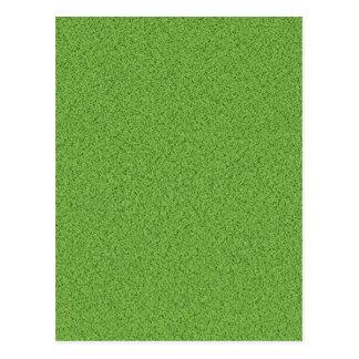 Textura de la hierba verde tarjetas postales