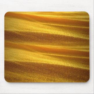 Textura de la hoja amarilla alfombrilla de ratones