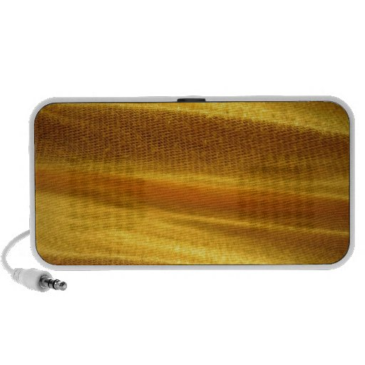 Textura de la hoja amarilla sistema altavoz