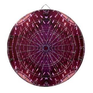 Textura de la luz 2 - rosa y rojo tablero dardos