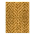 Textura de la materia textil postal