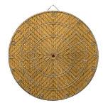 Textura de la materia textil tabla dardos
