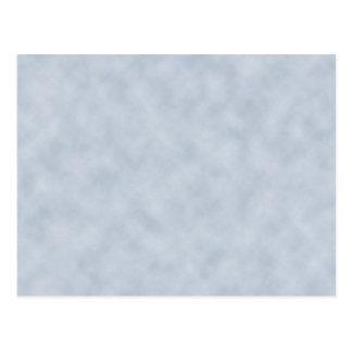 Textura de la mirada del pergamino del gris azul tarjetas postales