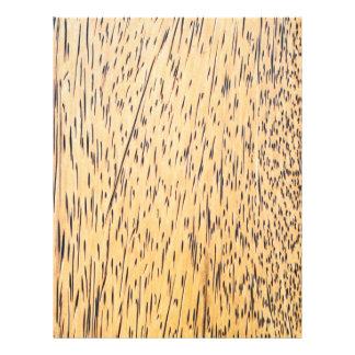 "textura de la Palma-madera Folleto 8.5"" X 11"""