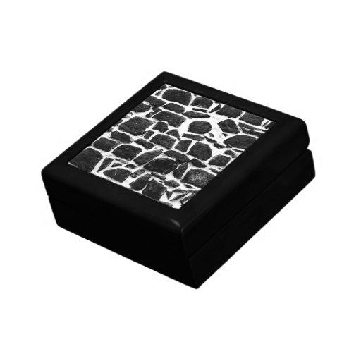 Textura de la pared cajas de regalo