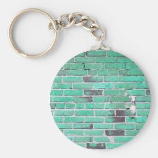 Textura de la pared de ladrillo del vintage de la  llavero