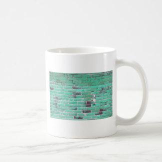 Textura de la pared de ladrillo del vintage de la  taza