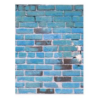 Textura de la pared de ladrillo del vintage del az postales