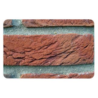 Textura de la pared de ladrillo imanes flexibles