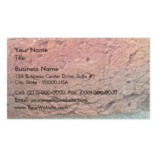 Textura de la pared de ladrillo tarjetas de visita