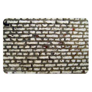 Textura de la pared de ladrillo vieja con los ladr imán de vinilo