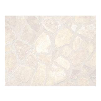 Textura de la pared de piedra membrete a diseño