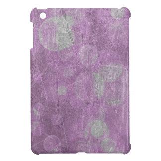 Textura de la pared efectos rosados y blancos iPad mini coberturas