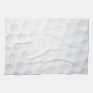 Textura de la pelota de golf toalla de mano