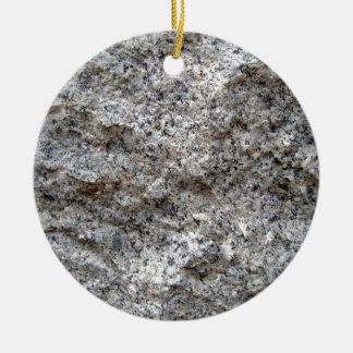 Textura de la piedra del granito de la versión pre ornamento de navidad