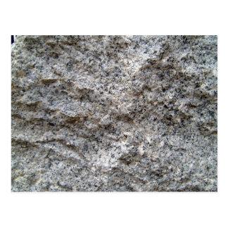 Textura de la piedra del granito de la versión pre postales