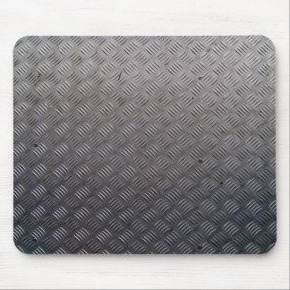Textura de la pisada del metal alfombrilla de raton
