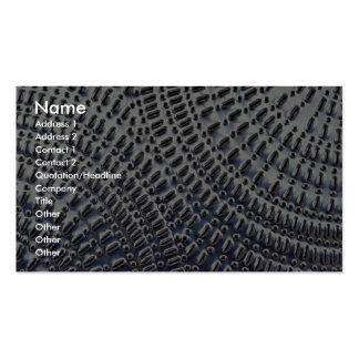 Textura de la placa de lata tarjetas de visita