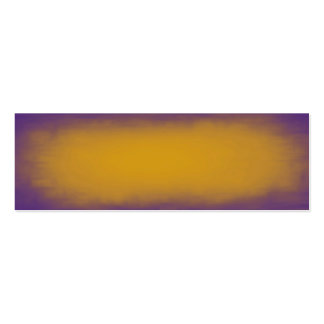 Textura de la púrpura y del amarillo tarjetas de visita mini