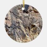 Textura de la roca de la montaña ornamentos de reyes magos