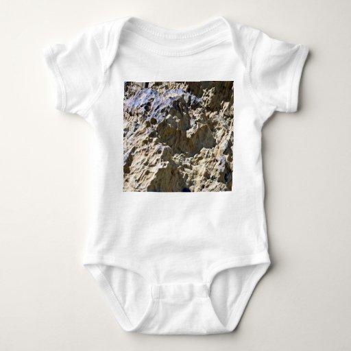 Textura de la roca del desierto remera