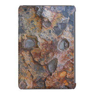 Textura de la roca sedimentaria funda de iPad mini