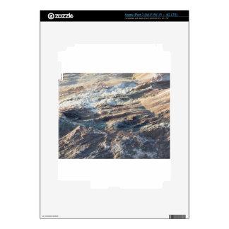 Textura de la roca y fondo naturales de la pegatinas skins para iPad 3