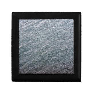 Textura de la superficie del mar cajas de regalo