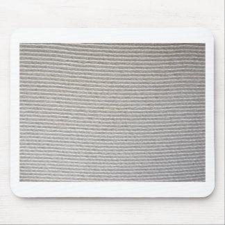 Textura de la tela blanca rayada para el fondo alfombrilla de ratones