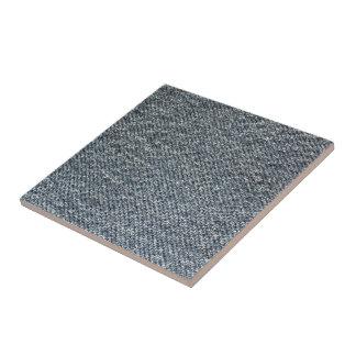 Textura de la tela del dril de algodón azulejo cerámica
