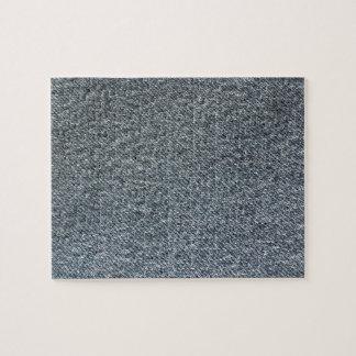 Textura de la tela del dril de algodón puzzle