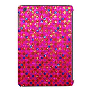 Textura de las joyas de la chispa del caso del carcasa para iPad mini