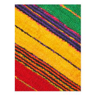 Textura de las lanas tarjetas postales