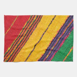 Textura de las lanas toalla