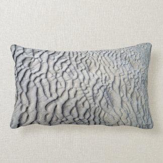 Textura de las ondas de arena almohada