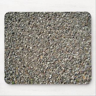 Textura de las piedras del guijarro alfombrilla de raton