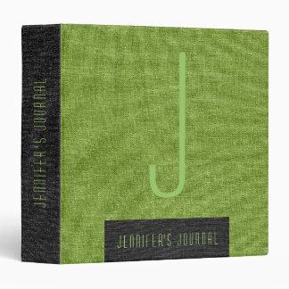 Textura de lino de la arpillera verde y negra